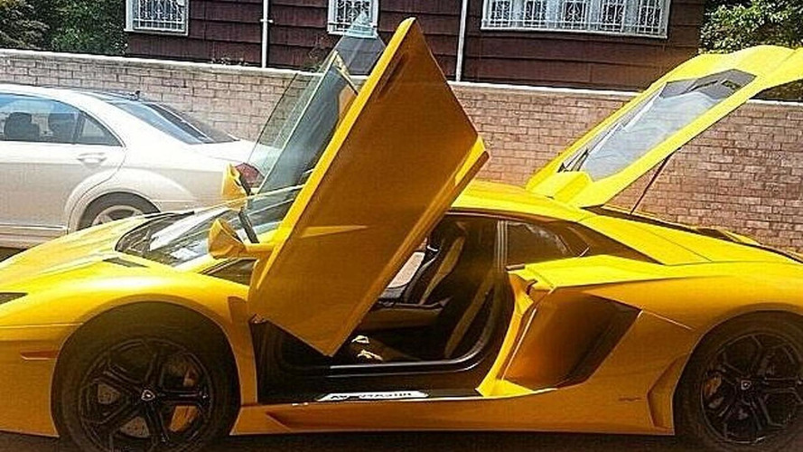 50 Cent is selling his yellow Lamborghini Aventador