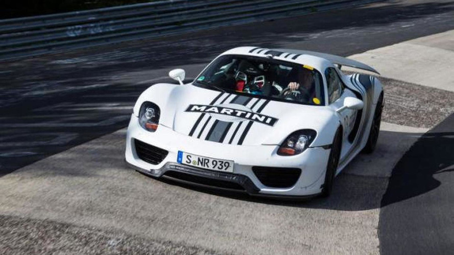 Porsche 918 Spyder officially priced at 845,000 USD