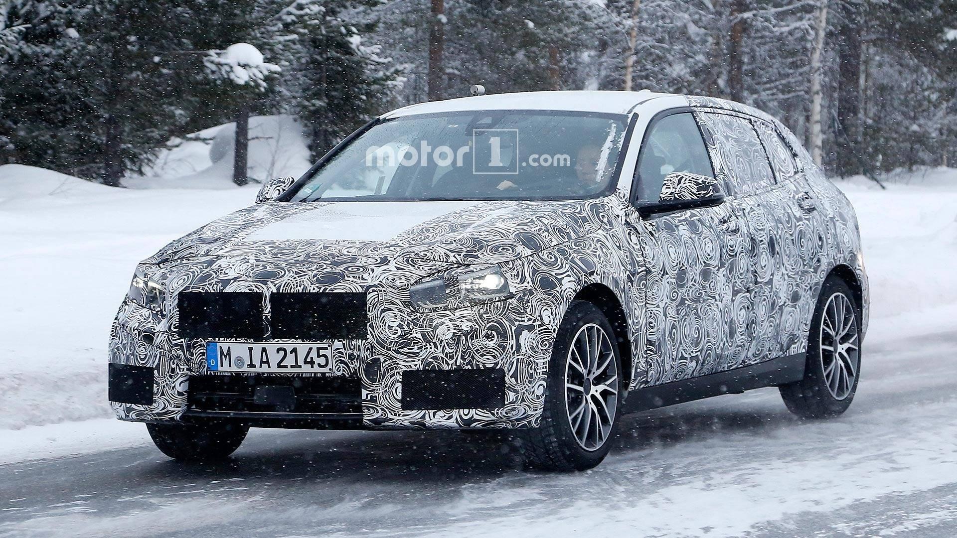 2018 - [BMW] Série 1 III [F40-F41] - Page 6 Bmw-1-series-spy-shots