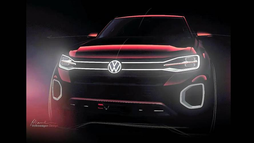 Volkswagen'in yeni pick up'ının ilk teaser'ı