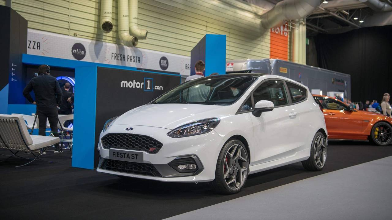 ford fiesta st makes uk debut on nec stand. Black Bedroom Furniture Sets. Home Design Ideas