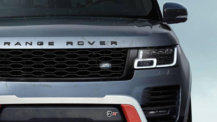 Range Rover SVX Tasarımı