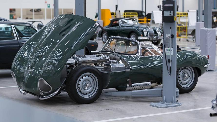 One Year On: Inside Jaguar Land Rover Classic Works