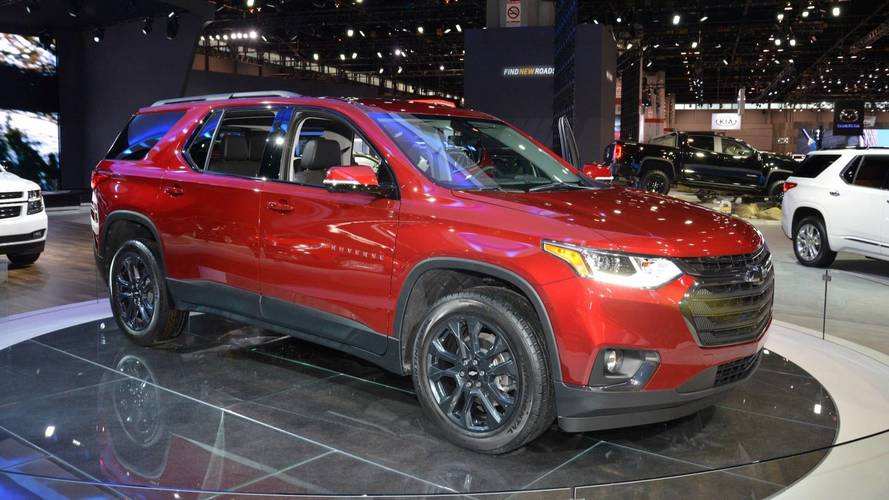 2018 Chevy Traverse RS Looks Sporty, But Without The Extra Power