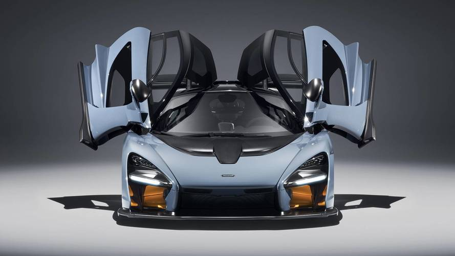 More pictures of the 2018 McLaren Senna