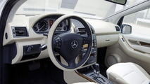 Mercedes A-Class E-Cell w/ inductive charging system - 07.12.2011