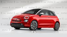 Fiat 500 2019 render