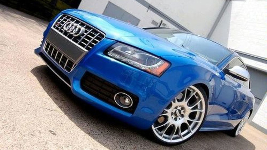 BBS Rims for the Audi S5