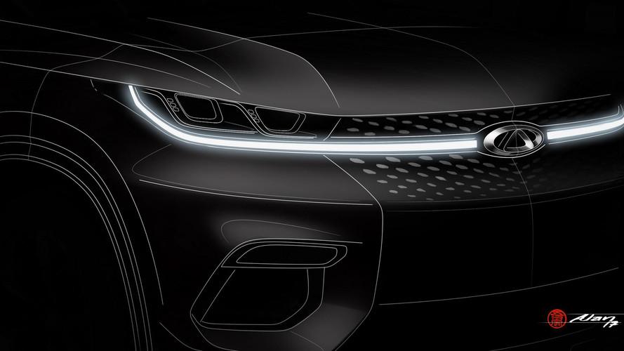 2017 Chery kompakt SUV teaser