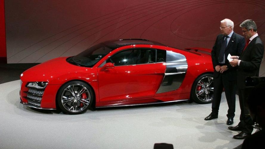 Audi R8 V12 TDI Le Mans Unveiled