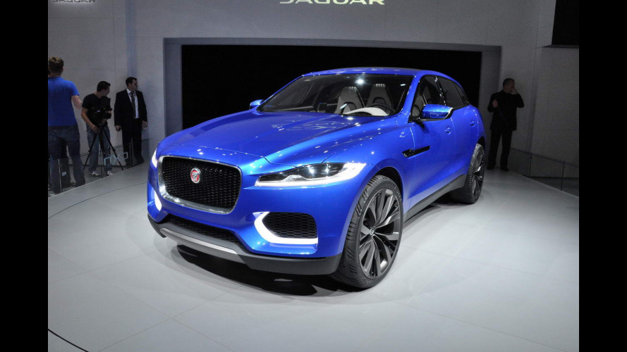 Jaguar al Salone di Francoforte 2013