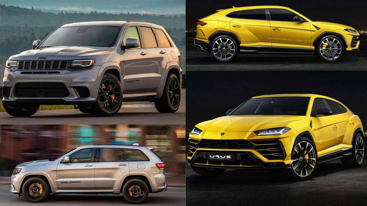 urus vs grand cherokee trackhawk closer than you think. Black Bedroom Furniture Sets. Home Design Ideas