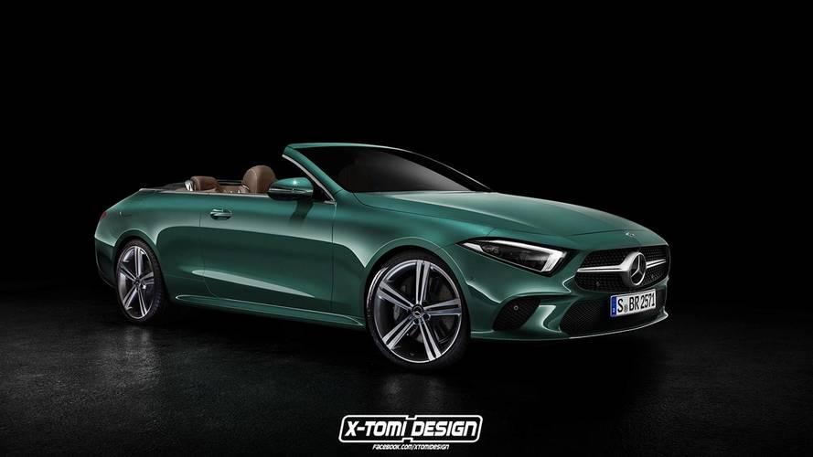 Mercedes-Benz CLS-Klasse Cabriolet rendering