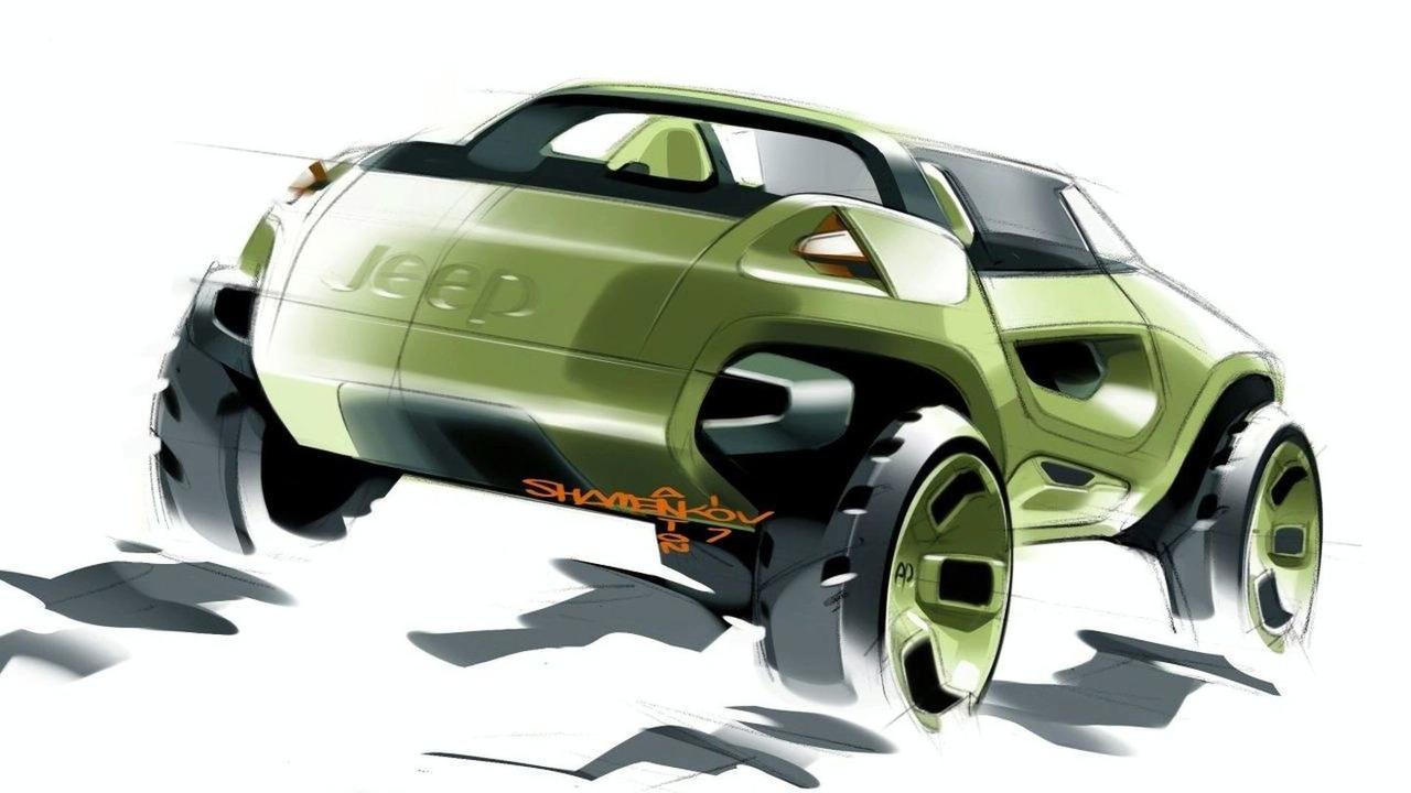 Jeep Renegade Hybrid Concept