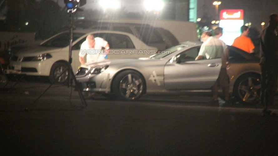 Facelifted Mercedes SL Caught On Dubai Photo Shoot