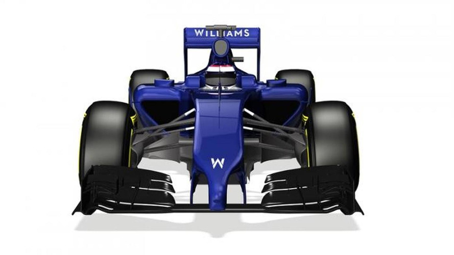 Williams reveals 'anteater' nose for 2014 FW36