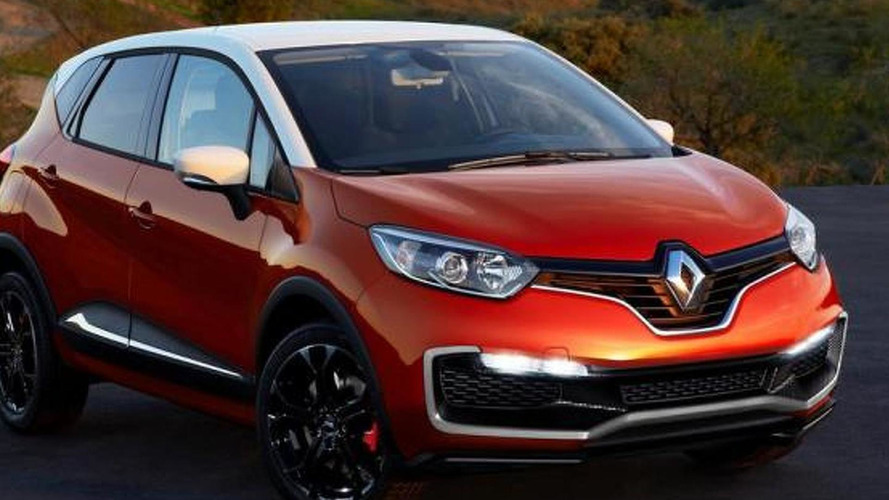 Renault Captur RS gets rendered