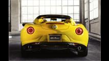Alfa 4C Spider: Auf geht's!