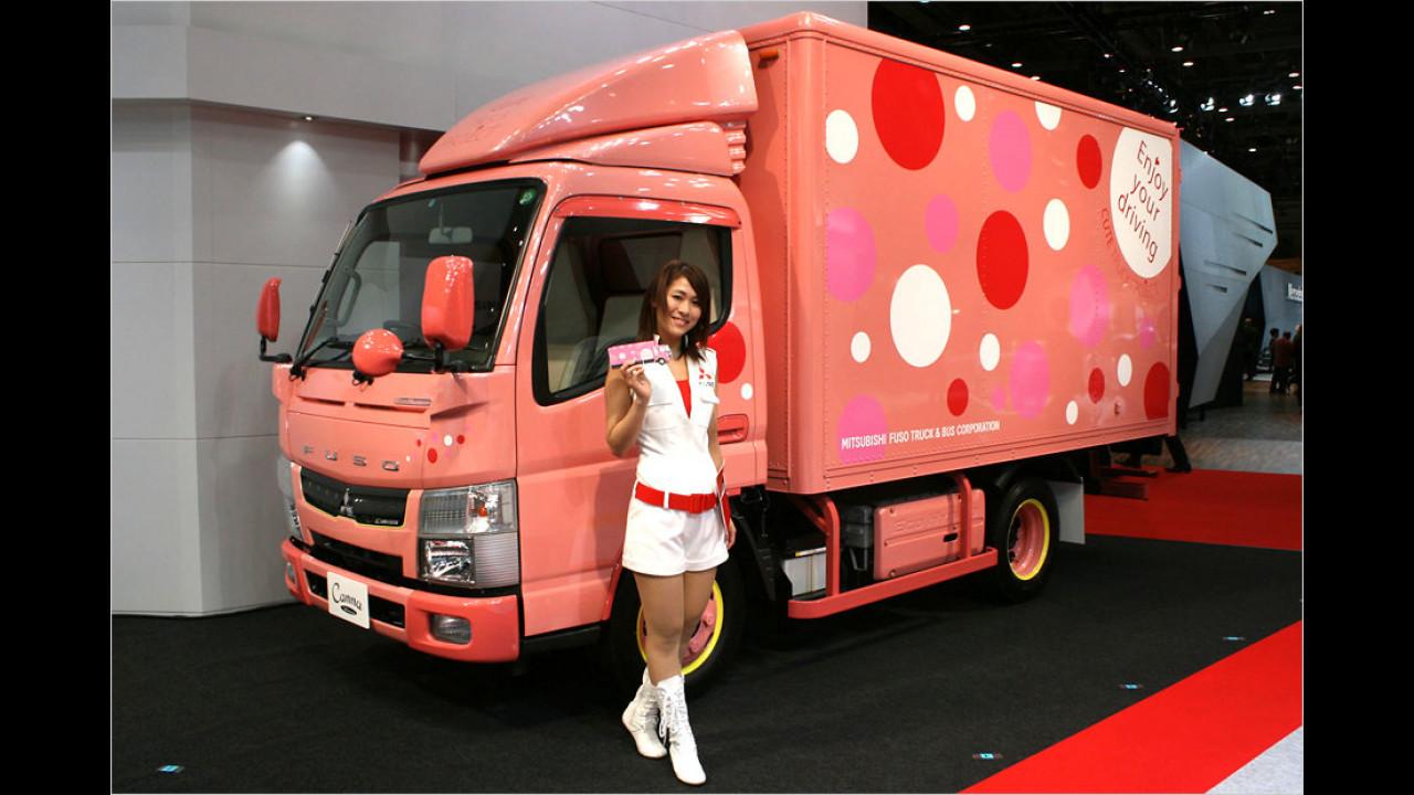 Damen-Lastwagen