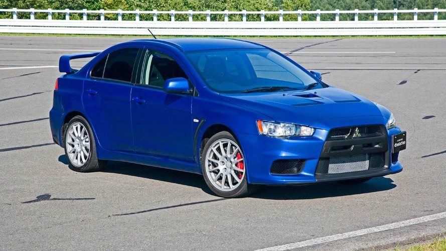 Mitsubishi Evo X Official Pictures