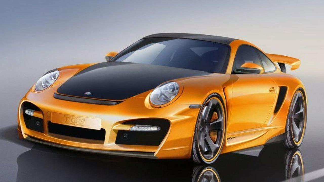 Porsche 911 997 Turbo GTstreet by TechArt