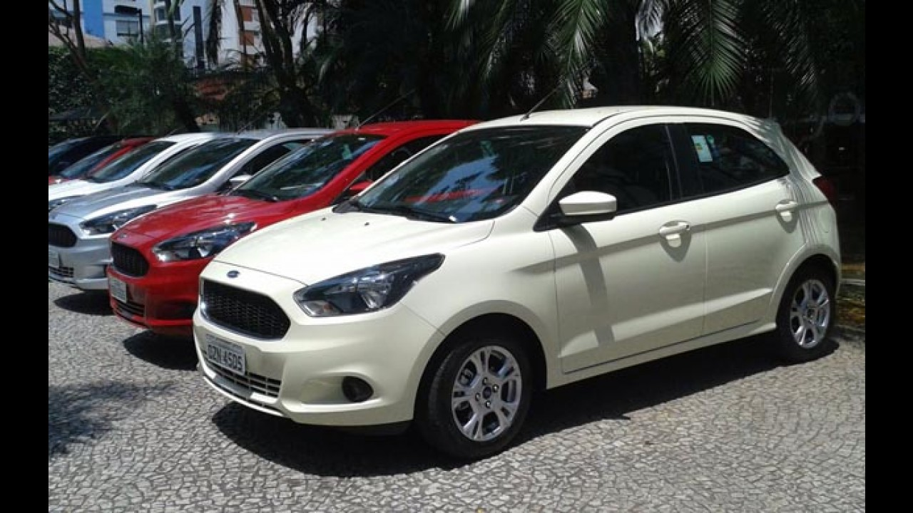 Ford inicia pré-venda do novo Ka 1.5 na Argentina com preço salgado