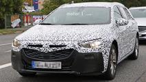 2017 Opel Insignia wagon spy photos