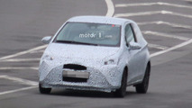 2018 Toyota Yaris spy photo
