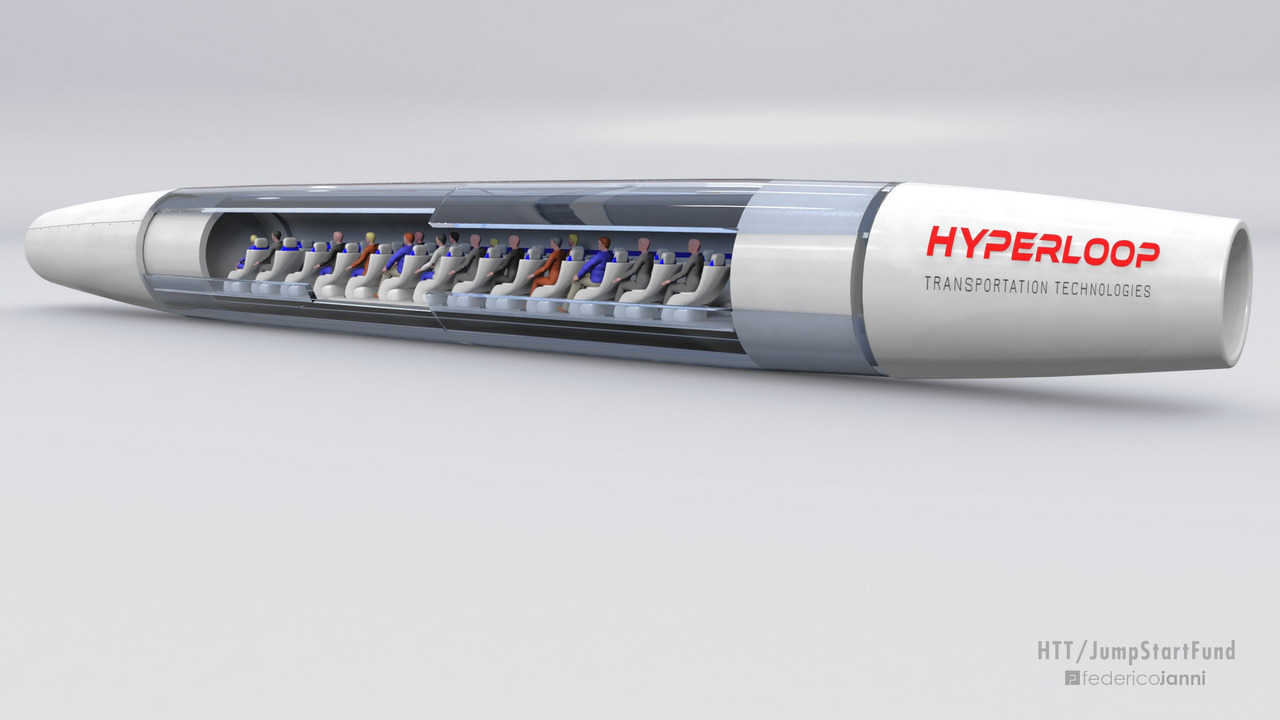Hyperloop Transportation Technologies hyperloop concept