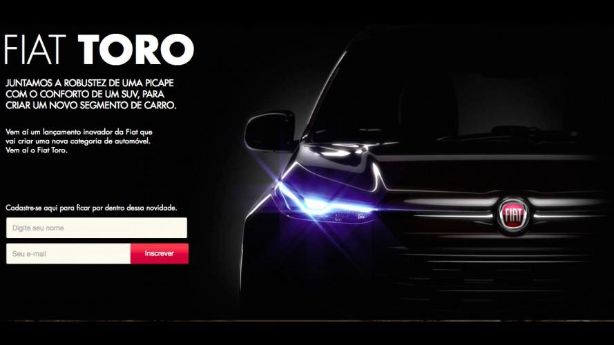 Fiat Toro ganha página exclusiva na internet antes do lançamento