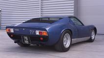 1971 Lamborghini Miura originally owned by Rod Stewart