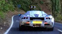McLaren P14 casus videosu görüntüleri