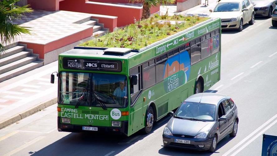 À Madrid, les bus auront un jardin sur le toit
