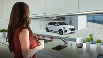 Hyundai Ioniq Electric and Google Home