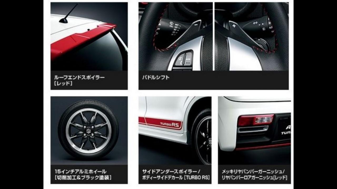 Este é o Suzuki Alto RS com motor 0.6 turbo - veja fotos
