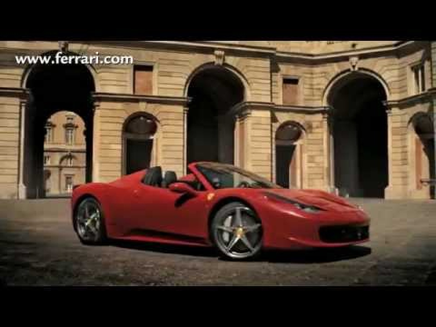 2012 Ferrari 458 Spider Official Video