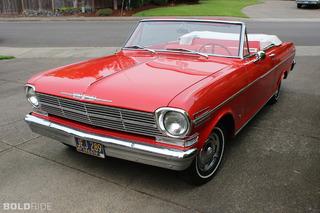 Your Ride: 1962 Chevy Nova Convertible