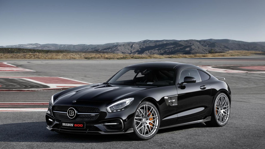 Brabus tunes the Mercedes-AMG GT S to 600 PS for Frankfurt