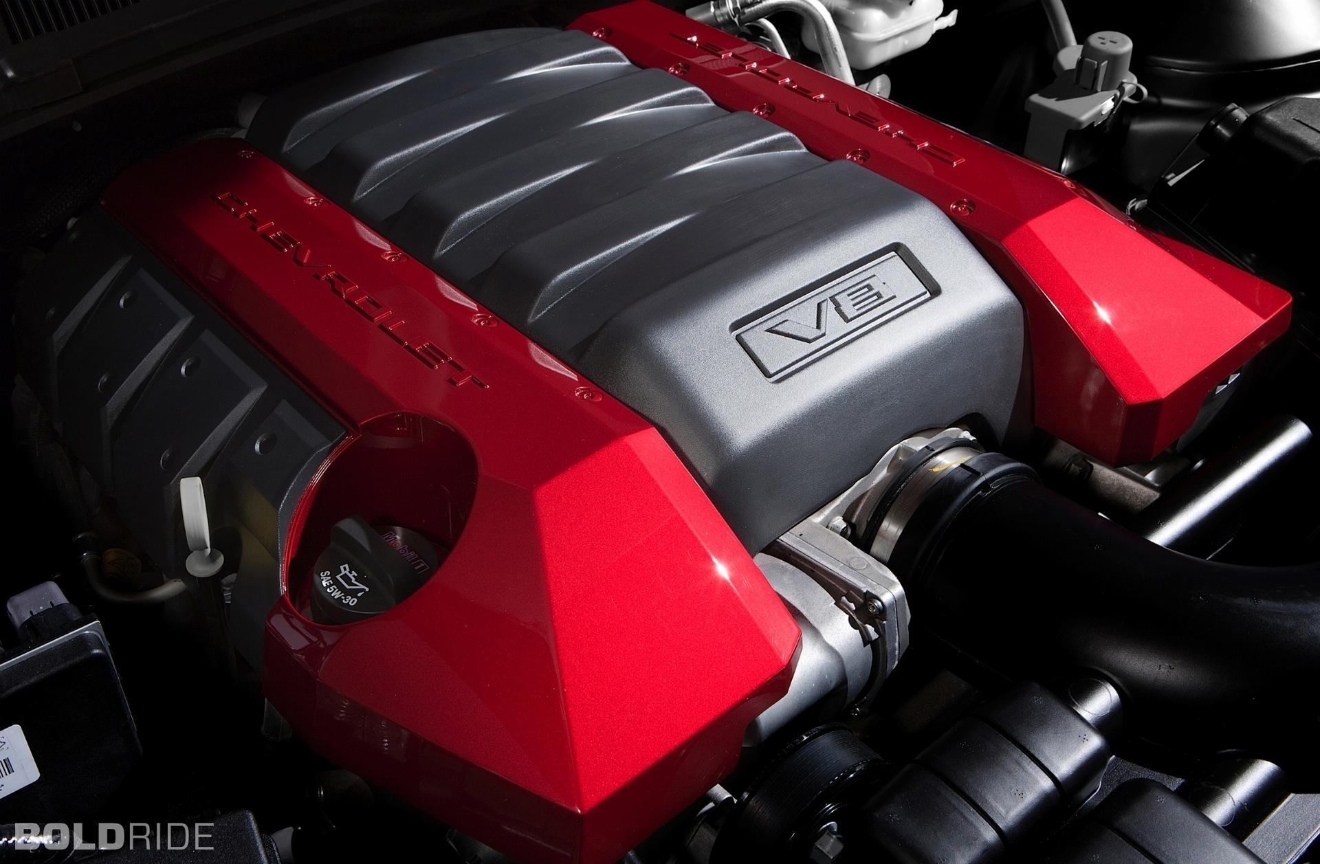 Chevrolet Camaro Red Flash Show Car