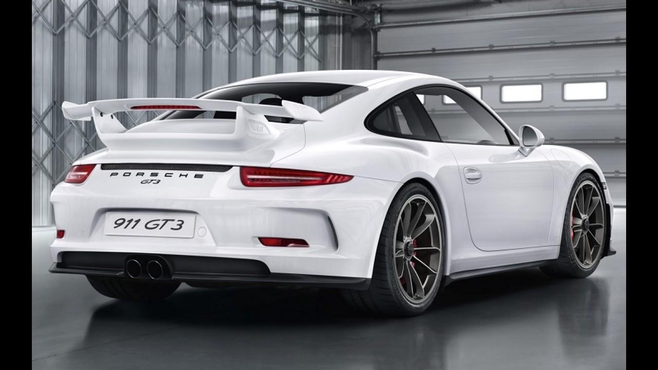 Risco de incêndio: Porsche suspende vendas e convoca todos os 911 GT3 para recall