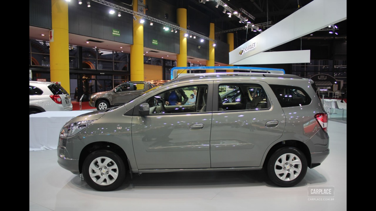 Exclusivo: Chevrolet Spin ganha central Mylink na linha 2014