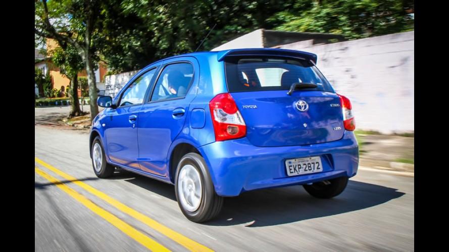 Toyota bate recorde de vendas no Brasil no semestre; Etios é o carro-chefe
