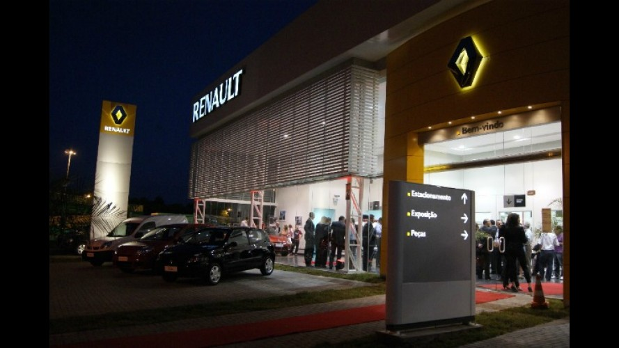 Renault chega a 200 concessionárias no Brasil