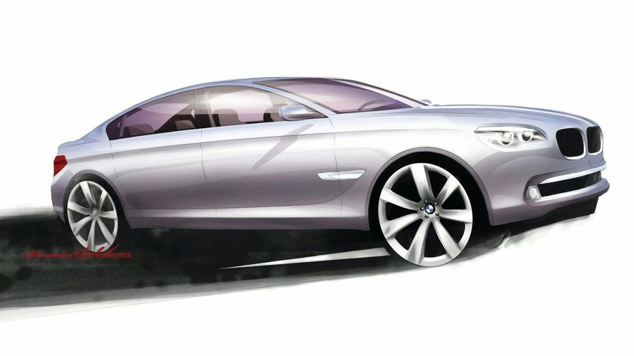 Radical BMW 7 Series Sketches Revealed