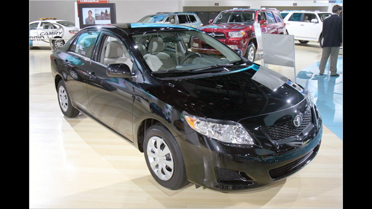 Platz 3: Toyota Corolla/Matrix