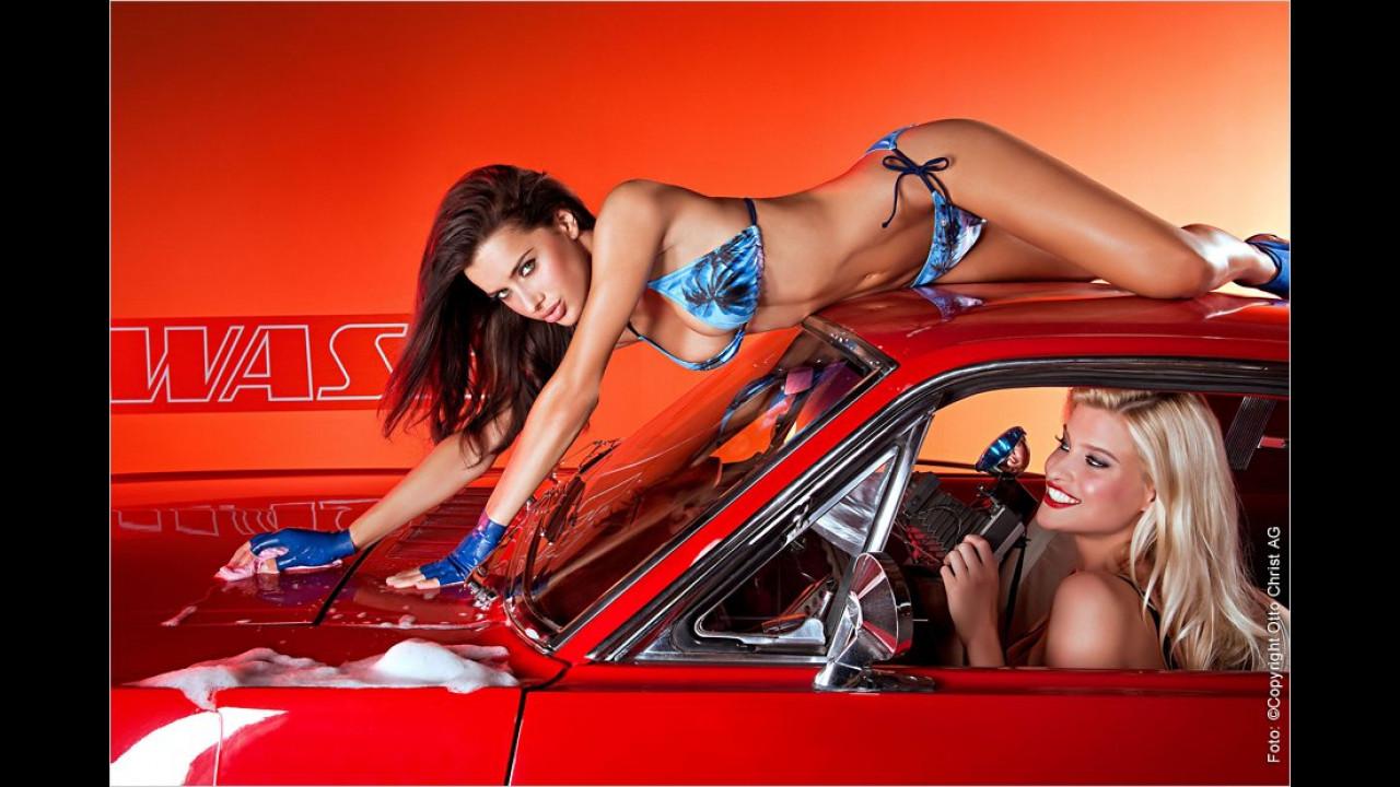 Hot Car Wash Kalender 2013