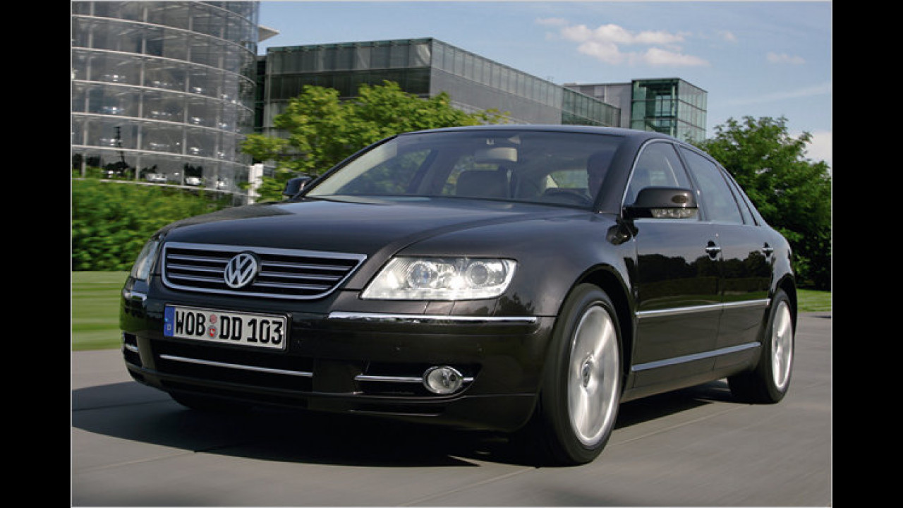 VW Phaeton W12 4Motion