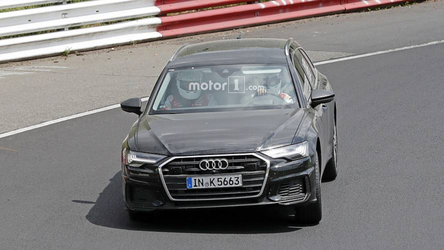 2019 Audi S6 Avant casus fotoğraflar