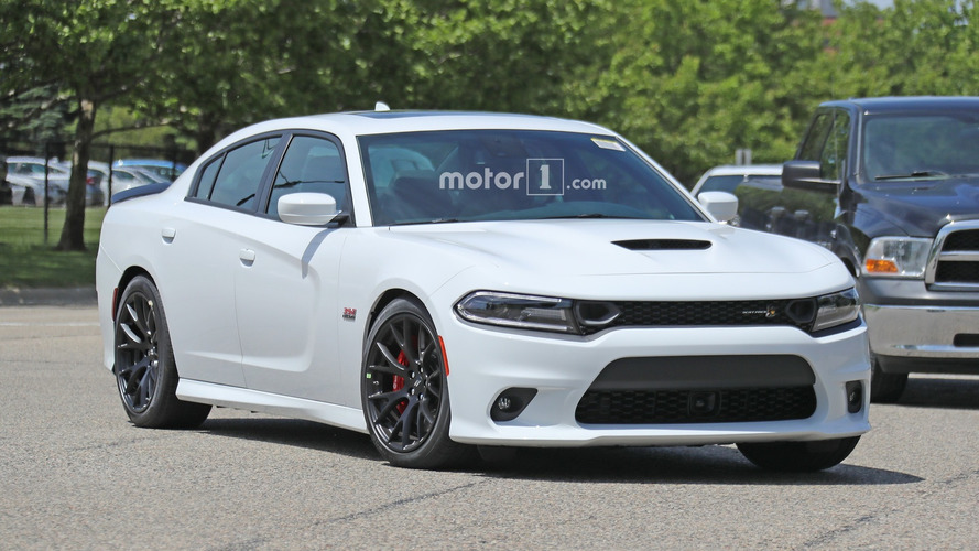dodge charger scat pack spied with only minor updates. Black Bedroom Furniture Sets. Home Design Ideas