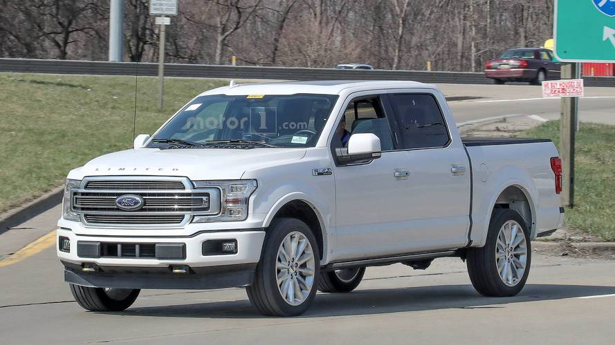 2019 Ford F-150 Limited Spy Photos photo
